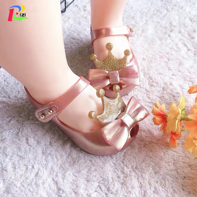 Beauty Summer Cartoon Cute Mickey Minnie sandals Jelly Shoes Kids Girl Toddler