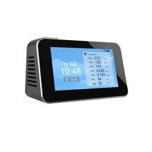 PM 2,5 Digitale Formaldehyd Detektor HCHO TVOC Luft Qualität Analyse Tester Home Smog Meter PM 2,5 PM 1,0 PM10 Sensor monitor
