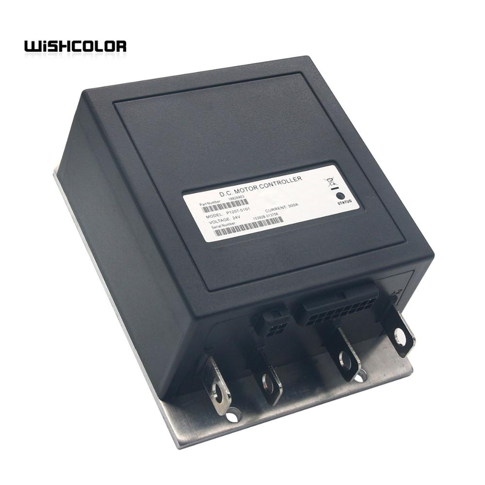 2020  Upgraded for 1207 or 1207A CURTIS 1207B-5101 24V 300A DC Motor Controller