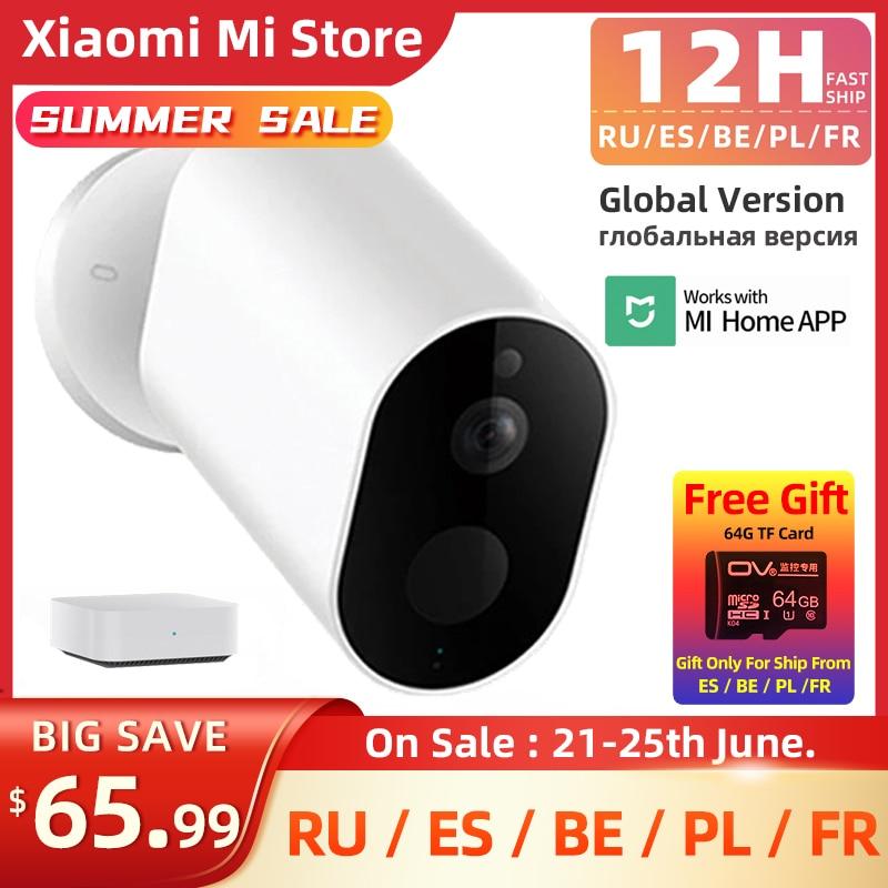 Xiaomi Mijia Imilab חכם מצלמה HD 1080P חיצוני MiHome APP אלחוטי אבטחת אינפרא אדום Gateway ראיית לילה IP66 גלובלי גרסה