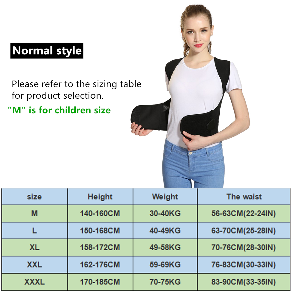 Tlinna Posture Corrector Belt with Adjustable Dual Strap Design to Get Perfect and Confident Body Posture Suitable to Wear Under or Over Clothing 5