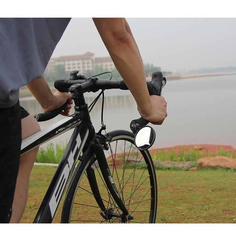 Adjustable Bicycle Mirror Accessories Bike Cycling Mountain or Cruiser Bike