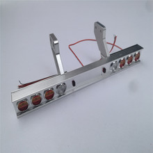 Carriage Truck Metal Taillight Modified Light for Tamiya 1/14 Tractor 56319 56330 RC Truck Parts Accessories