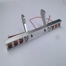Carro camión luz trasera de Metal luz modificada para Tamiya 1/14 Tractor 56319 56330 RC camión partes Accesorios