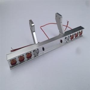 Image 1 - Trasporto Camion Del Metallo Fanale Posteriore Modificato Luce per Tamiya 1/14 Trattori 56319 56330 RC Parti del Camion Accessori