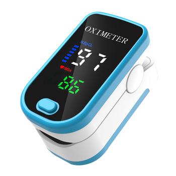 Pulsoximeter napalcowy Pulsoksymetr tlenu we krwi palec puls cyfrowy palca Pulsoksymetr Monitor saturacji tlenu oximetro tanie i dobre opinie meterk CN (pochodzenie)