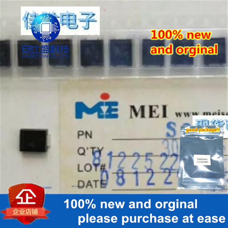 50pcs 100% New And Orginal S3G DO214AB 3A400V Silk-screen S3G In Stock
