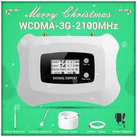 Spécialement pour la russie! amplificateur cellulaire 3G répétiteur 2100Mhz 3G avec kit de booster de signal cellulaire Yagi 3g