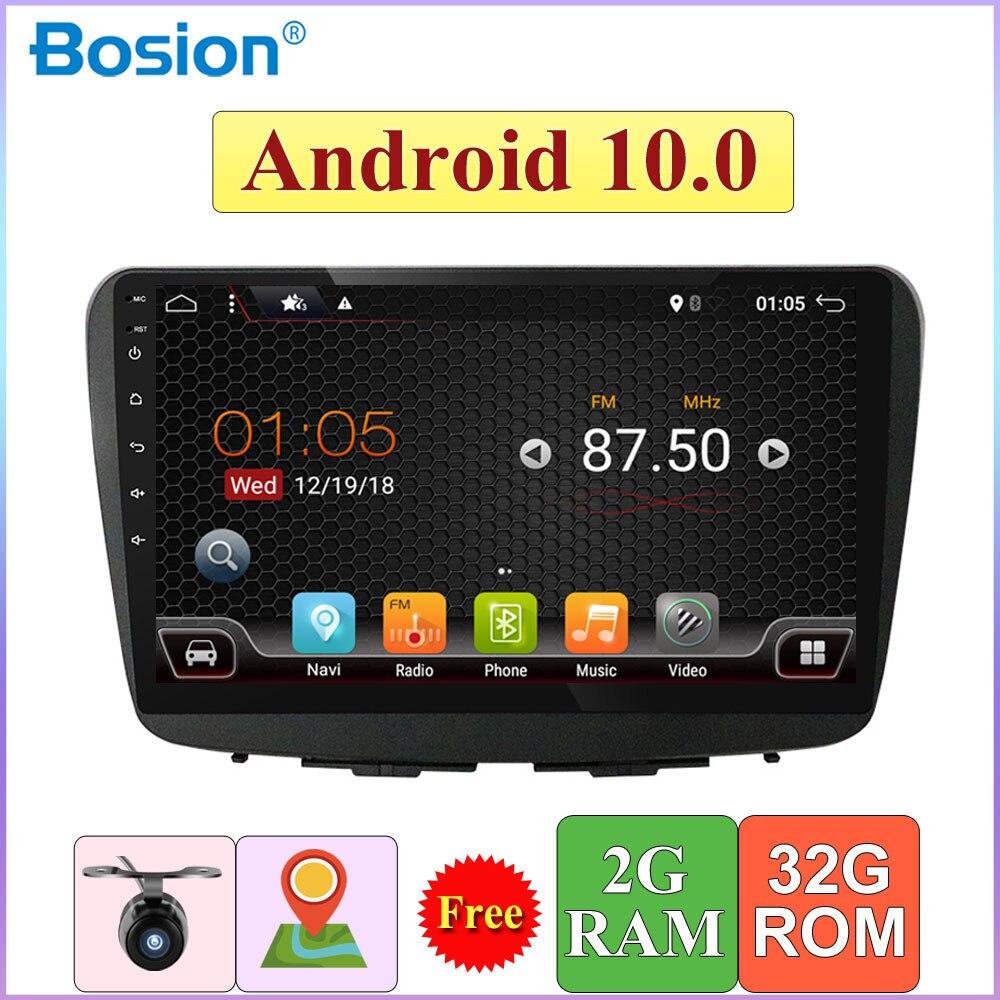 Auto Radio Multimedia reproductor de Audio GPS de navegación Android 10,0 para Suzuki Baleno 2017 2018 Bluetooth AUX Wifi SWC Cámara DAB