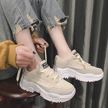 Old shoes women plus velvet 2019 autumn and winter new muffin thick bottom net red casual sports shoes warm women's winter cotto