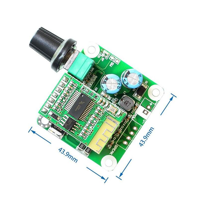 1pc Digital Amplifier Board Audio Stereo Bluetooth 4.2 TPA3110 15W LHB99