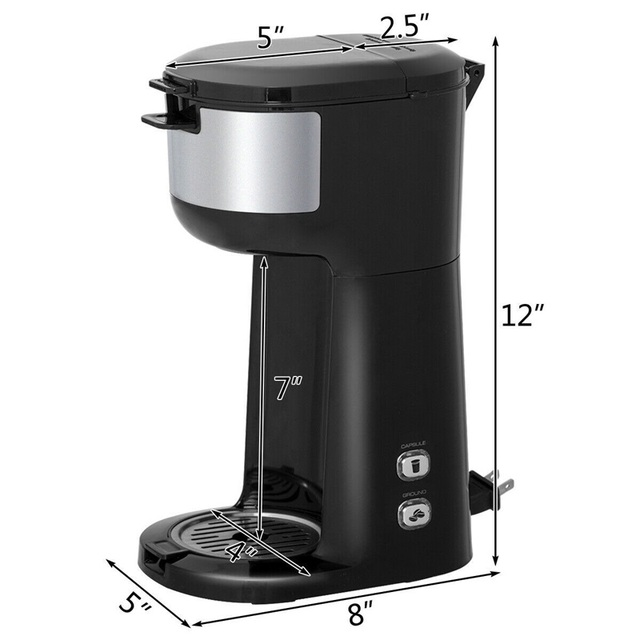 Portable Coffee Maker for Ground Coffee  3