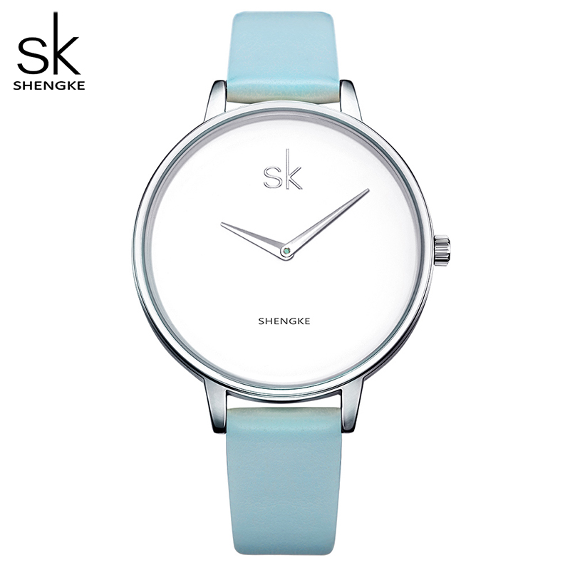 Shengke Fashion Wrist Watch Women Watches Ladies Luxury Brand Famous Quartz Watch Female Clock Relogio Feminino Montre Femme SK