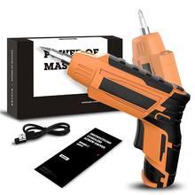Cordless Electric Screwdriver Household…