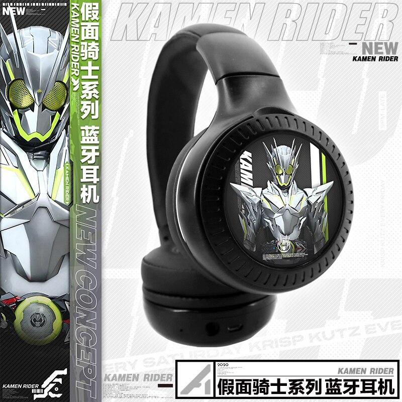 HOT Anime Kamen Rider Zi-O BUILD 01 Wireless Bluetooth Headset Comfortable Foldable Gaming Headphones Student Cosplay Xmas Gift 4