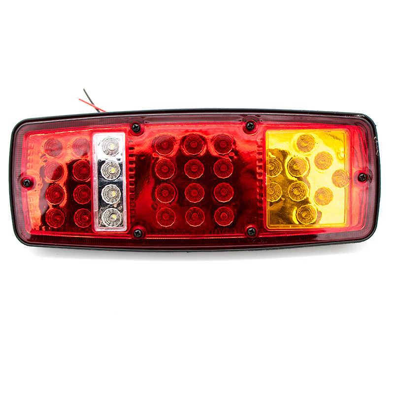 NLpearl 車のライトアセンブリテールライトリアランプ防水ブレーキストップリバースランプ用車キャラバン 12V 24V