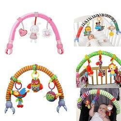 Gran oferta silla de paseo de torno para asiento de coche, juguetes colgantes para bebés, juguetes de viaje para bebés, sonajeros educativos, 20% de descuento