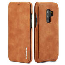 Simple Flip Case For Samsung Galaxy S9 Plus Case Leather Magnetic Luxury Cover Case For Funda Samsung S9 S9Plus Coque Cover