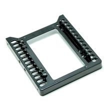 цены на Quality 2.5 Inch SSD HDD To 3.5 Inch Metal Mounting Adapter Bracket Dock 8 Screws Hard Drive Holder For PC Hard Drive Enclosure  в интернет-магазинах