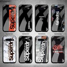 Fashion Design Superdryers Phone Cases Tempered Glass For Samsung S20 Plus S7 S8 S9 S10 Note 8 9 10 Plus