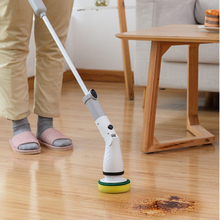 112cm Practical Cleaning Brush Kitchen Scrub Cleaner Tools Set Electric Spin Scrubber Bathroom Turbo Long Handle Cleaner
