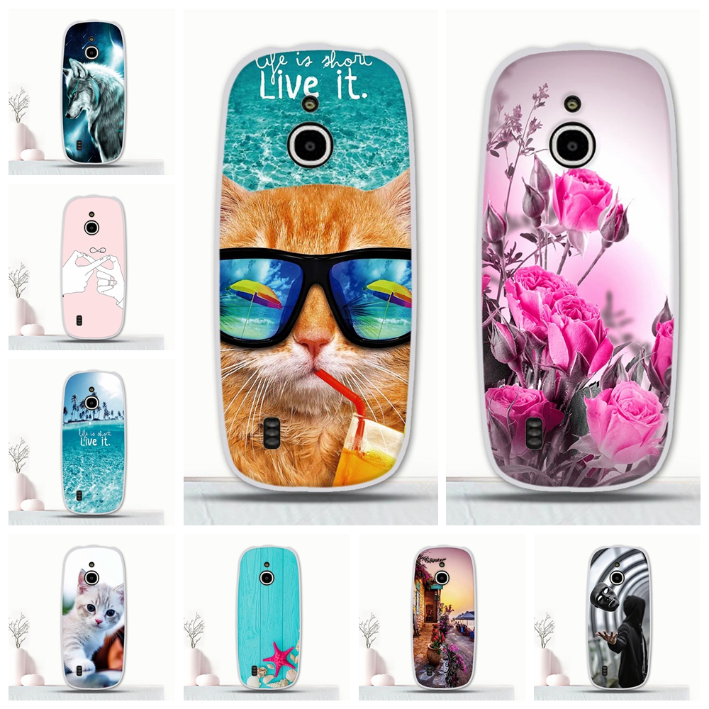For <font><b>Nokia</b></font> <font><b>3310</b></font> <font><b>3G</b></font> 4G <font><b>Case</b></font> Phone Silicone Back Protective For <font><b>Nokia</b></font> <font><b>3310</b></font> Ultra Slim TPU Patterned For <font><b>Nokia</b></font> <font><b>3310</b></font> 4G <font><b>Case</b></font> Funda image