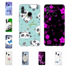 For Huawei Honor 6A 8X Case Soft TPU Silicone For Huawei Honor 9 Lite Cover Floral Patterned For Huawei Honor 10 10 Lite Coque for huawei honor 6a 8x case soft tpu silicone for huawei honor 9 lite cover panda patterned for huawei honor 10 10 lite bumper