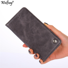 For Cover Honor 9A Case Card Holder Flip Wallet Leather Case