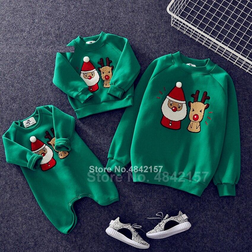 Новинка года; Рождественские свитера для всей семьи; 19 цветов; рождественские худи; пижамы; теплый свитер с вышивкой Санта-Клауса и лося; подарок для взрослых и детей