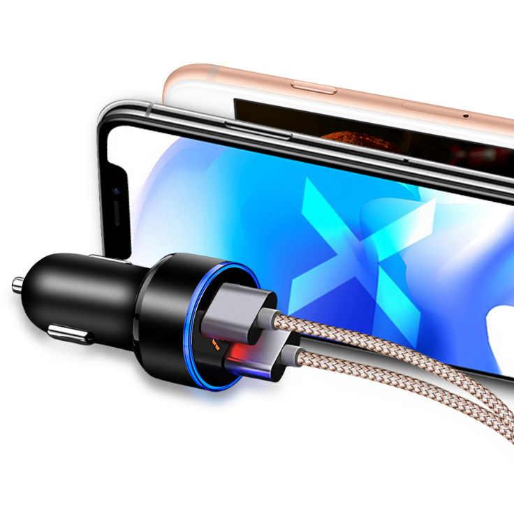 Chargeur de Charge de voiture à double Port USB pour honda insight nissan juke citroën berlingo volkswagen transporter t5 ford