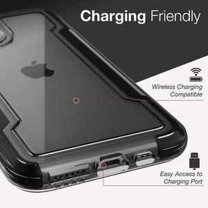 Image 5 - Защитный прозрачный чехол X Doria для телефона iPhone 11 Pro Max, чехол в стиле милитари для iPhone 12Pro, защитный петух