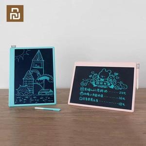Image 1 - YouPin Jiqidao Smart Small Children Writing Tablet Blackboard 13.5 Inch Writing Board Handwriting Pads for Kids Drawing Writing