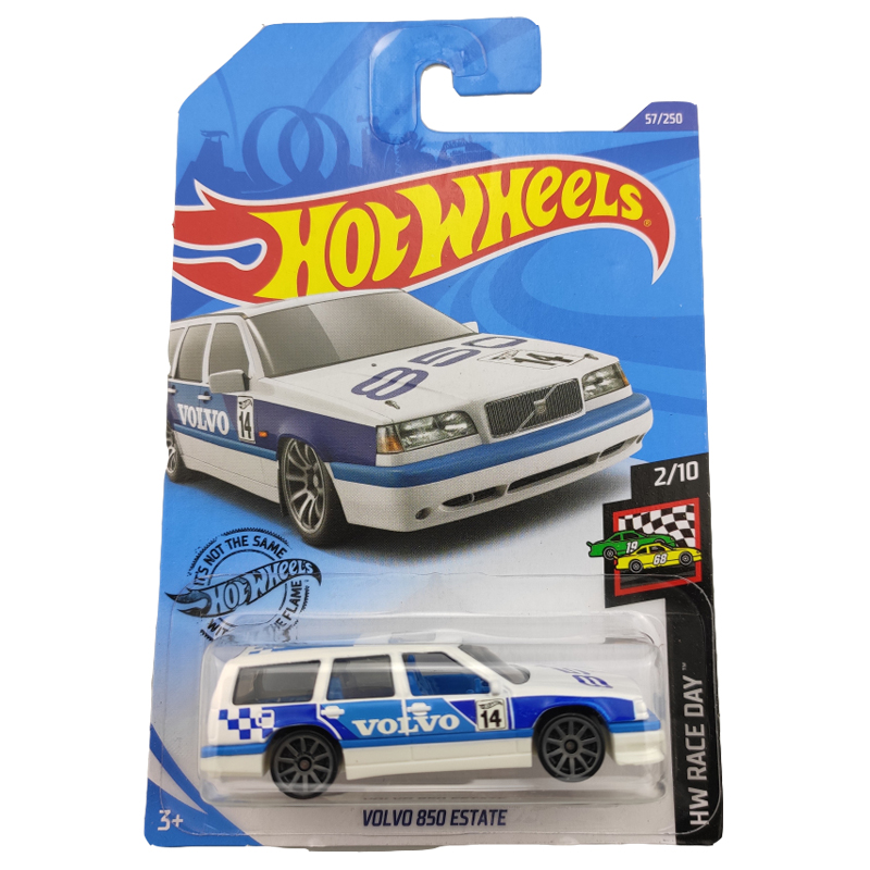 2020 Hot Wheels 1:64 Car NO.39-74 VOLVO 850 ESTATE  LANCER EVOLUTION  95 MAZDA RX-7  Metal Diecast Model Car Kids Toys Gift