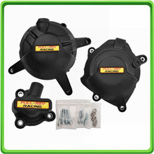 Racing Engine Cover Set Protection Guard For Yamaha YZF R25 / R3 / MT-03 MT03 FZ03 2014 2015 2016 2017 2018 2019 2020 motorcycle moto racing set engine cover protect protection case kit for yzf r3 2015 2016 15 16