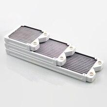 FormulaMod Fm-Кора-WT, 120/240/360 мм Медь Белый однорядные радиаторы, 29 мм Толщина, подходит для 120*120 мм вентиляторы