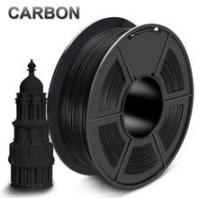 PLA Carbon Fiber Filament Fast Delivery 1.75mm 1kg 100% no bubble 3D Printer Filament 1KG 3D Artwork Crafts Printing Material