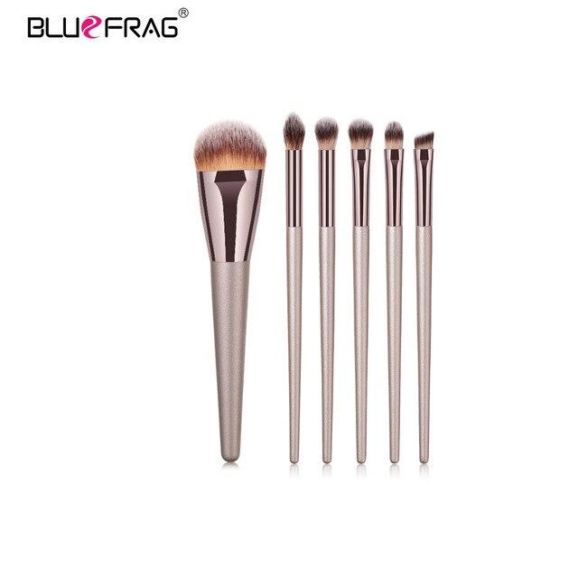 BLUEFRAG Makeup Brushes Tool Set Of Make Up Brushes 6-19Pcs Powder Eye Shadow Foundation Blush Blending Beauty Brush Maquiagem 2