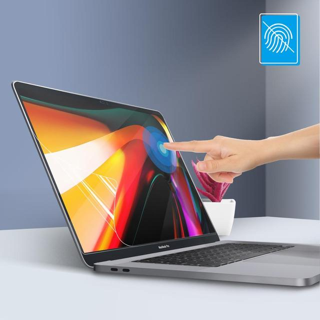 Lention Screen Protector for MacBook Pro 16 inch 2019  Model A2141, HD Clear Film with Hydrophobic Coating Protect macbook pro16 1