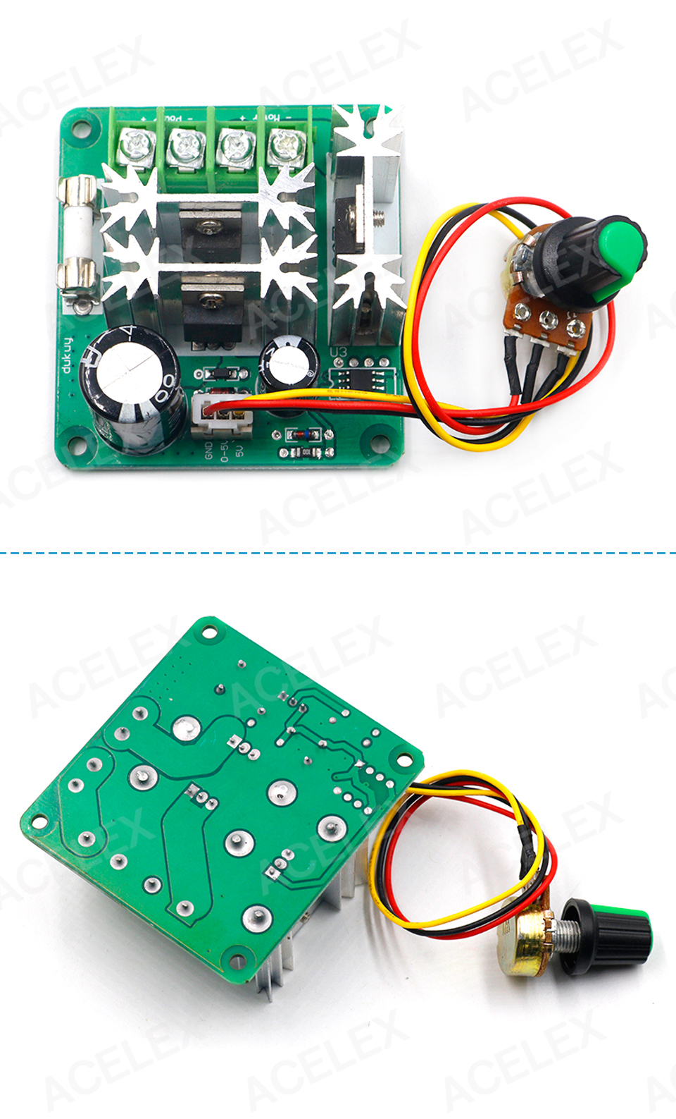 H83669b6efc524bfdba96d673c5eaabdfH - DC 6V-90V 15A DC Motor Speed Controller Stepless Speed Regulation Pulse Width PWM DC 12V 24V 36V 48V 1000W
