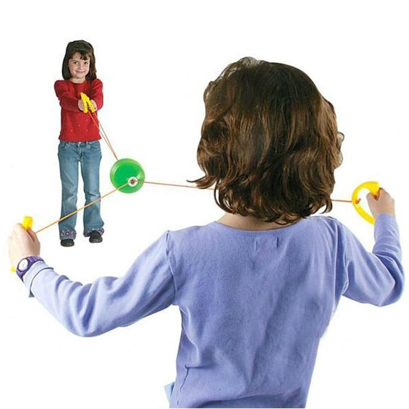 Shuttle Zip und Zoom Ball Jonglieren Sportspiele für Kinder Kinder Outdoor Spielzeug Sensory Play Kinder Speelgoed