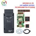 Автомобильный диагностический сканер OPCOM V1.70, обновленная версия opcom V1.95 с чипом PIC18F458 FTDI