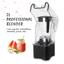 ITOP 2L Commercial Blender Professional Power Mixer Fruit Juicer Cocktail Bar Food Processor Stainless Steel Blade 2200W