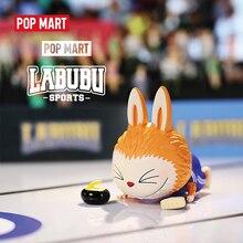 POP MART en canavarlar Labubu spor serisi oyuncaklar şekil aksiyon figürü kör kutu doğum günü hediyesi çocuk oyuncak ücretsiz kargo 1 adet