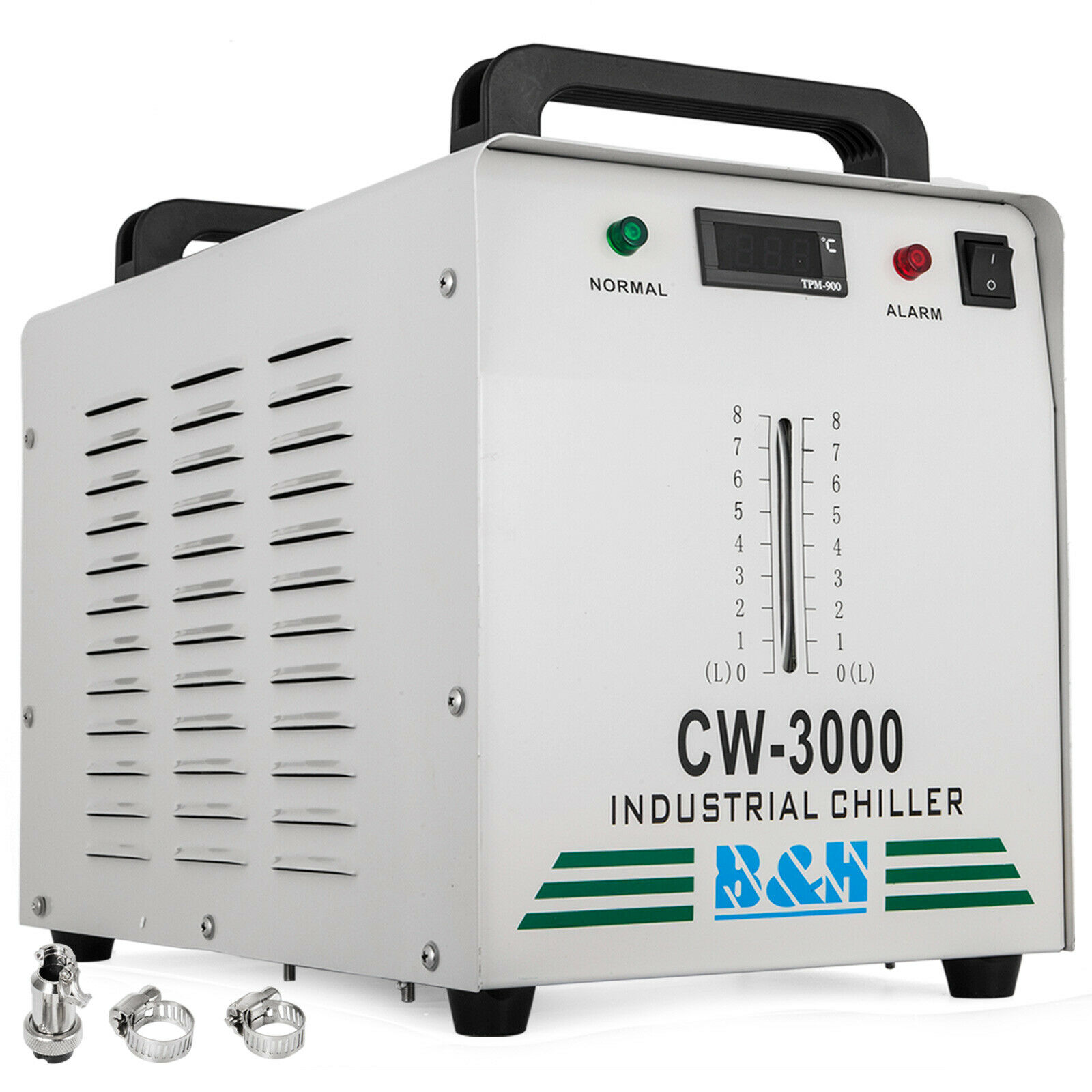 CW-3000DG Thermolysis Industrial Water Chiller For 60W / 80W CO2 Glass Tube 220V
