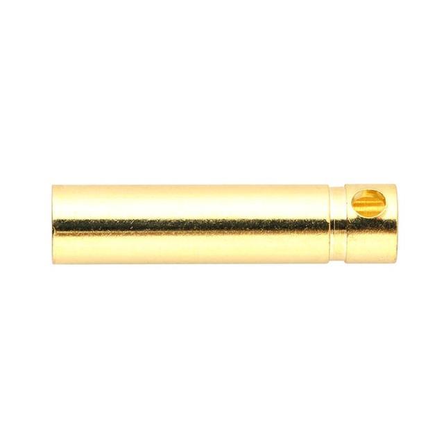4.0mm Male&Femalel Banana gold Plug connectors For Battery ESC Motor Exquisitely Designed Durable Gorgeous 4