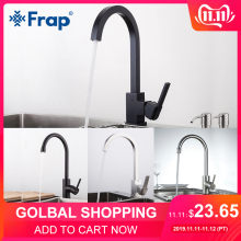 FRAP Tap Faucet-Space Kitchen-Sink Water-Mixer Rotation Aluminum Hot-And-Cold-Water 360-Degree