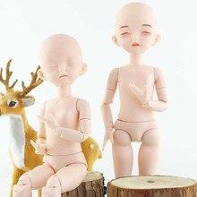 28CM BJD Doll Nude 22 BJD Ball Joint Doll Body DIY Makeup Doll Girl Gift Toy Dolls