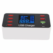 цена на 8 port charger Car Charger Quick Charge 3.0 For Phone Adapter Multi-Port USB Adapter Mobile Charger