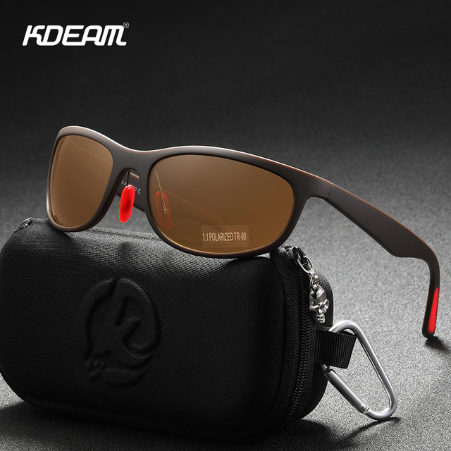 Men's TR90 Flexible Sport Driving Sunglasses