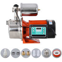 GLFJET Household Booster Pump Constant Pressure Frequency Conversion Water Circulation Pump Utra-quiet Self-Priming Pump 220V